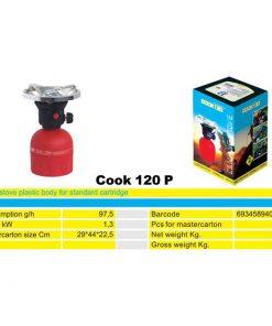 2171 + Plinsko kuhalo na kartušu COOK 120, ABS,Ferro-pack