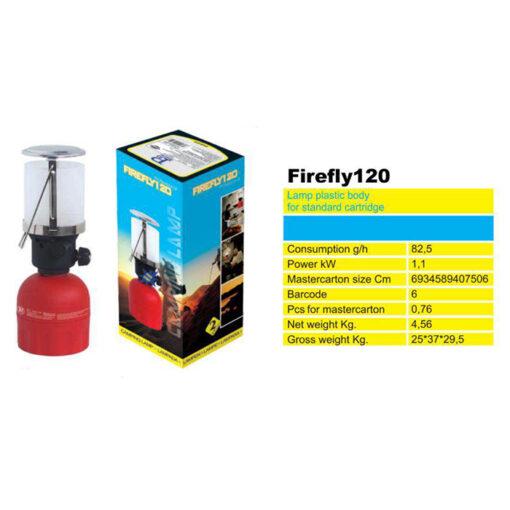 2172 + Plinska svijetiljka FIREFLY 120, ABS,Ferro-pack