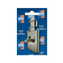 2379 Sigurnosni zasun BANE 170 x 70 mm,Ferro-pack
