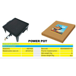 2413 + Ploča za roštilj sa teflon zaštitom 40 x 40 cm,Ferro-pack