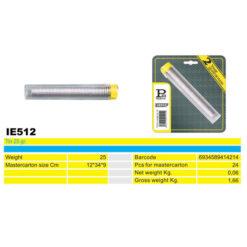 2415 + Žica za lemljenje u PVC kutiji, 25 gr, IE512,Ferro-pack