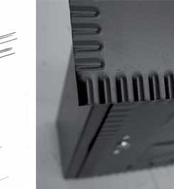 2608 ++ Poštanski sandučić kovani tip 641, 230 x 270 x 70 mm, crni sa bravicom,Ferro-pack