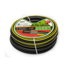 3239 - Vrtno crijevo,troslojno - crno- armirano,Ferro-pack