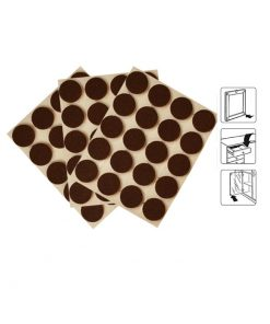 8541 – Filc fi 20 mm, 1/20 komada , smeđi, bijela podloga,Ferro-pack