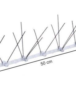8548 + INOX zaštita od ptica, 50 cm, sa PVC šinom,Ferro-pack