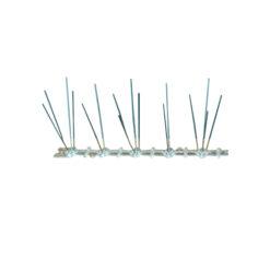 8548 - INOX zaštita od ptica, 50 cm, sa PVC šinom,Ferro-pack