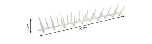 8549 + PVC zaštita od ptica, 50 cm,Ferro-pack8549 + PVC zaštita od ptica, 50 cm,Ferro-pack