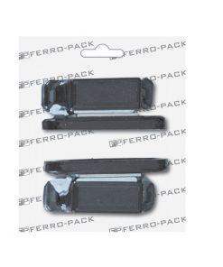 P2074 Magnet 3,5 KG , crni ; 2 kom,Ferro-pack