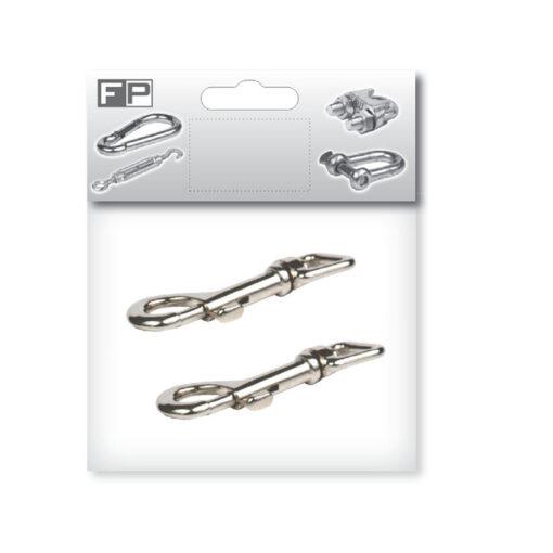 P2199-Karabin za ključ 17 x 80 x 8 mm / 2 kom,Ferro-pack