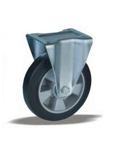 3341 - Liv kotač fi 100 mm fiksni nalivena guma elastic-170 kg,Ferro-pack