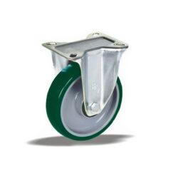3365 - Liv kotač PA fi 125 mm fiksni poliuretan zelena-200kg,Ferro-pack