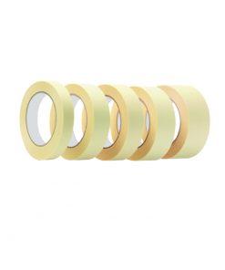 3411 - Krep traka molerska, 19 mm x 33 m, 60 C, žuta, art. MS 136,fERRO-PACK