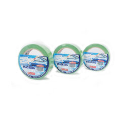 Krep traka molerska, vlago i UV otporna, sa naljepnicom, 19 mm x 33 m, 80 C, zelena, art. SS 700 ,Ferro-pack