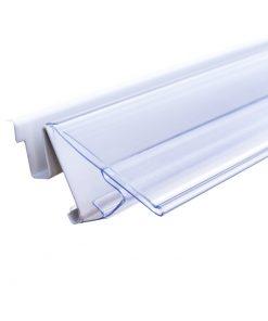 TM17 - TEGOMETAL PVC nosač cijena prozirni 988 x 40 mm,Ferro-pack