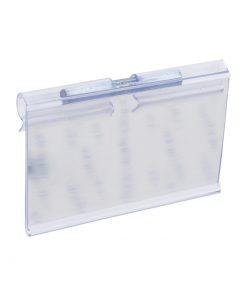 TM25-TEGOMETAL PVC nosač cijene za kukice, profil T,Ferro-pack