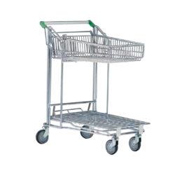 TM26-TEGOMETAL trgovačka kolica transportna s košarom,Ferro-pack