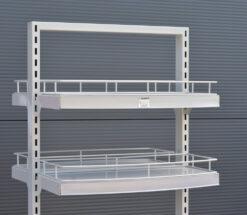 TO609 ++ Dvostrani stalak sa kotačima, h-180 cm, P +4 od 30x60 cm,fERRO-PACK
