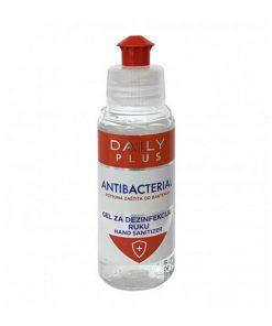 Gel za dezinfekciju ruku DAILY PLUS antibacterial 100 ml