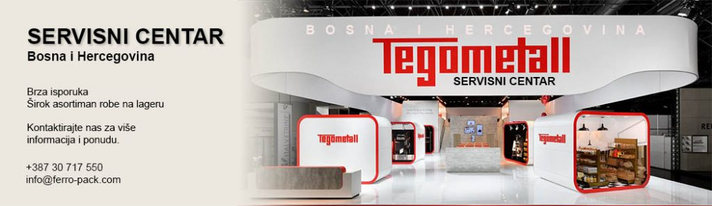 Tegometall servisni centar za Bosna i Hercegovina