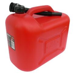 Kanistar plastični za gorivo sa ljevkom, 20 lit.