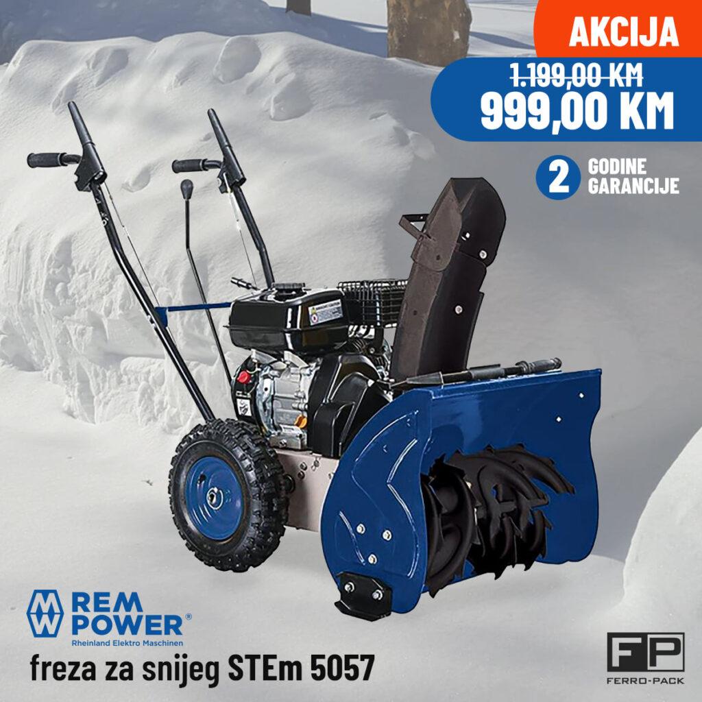 Rem Power freza za snijeg