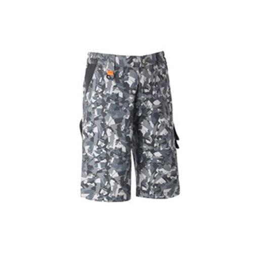 Kratke hlače TENERE PRO - CAMO, crne