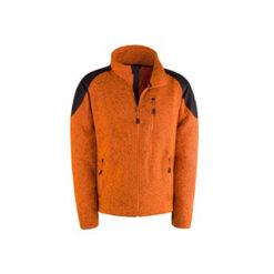 Fleece jakna HUNTER, orange, fluo