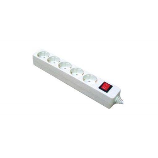 Kabel produzni SONIC, SA 5 uticnice, duzina 3 met sa prekidacem