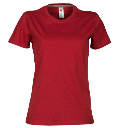 Ženska majica, SUNSET LADY crvena