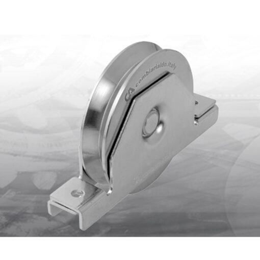kotac za kliznu kapiju sa ukopavajucim nosacem inox 427ix