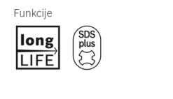 BOSCH dlijeto SDS-PLUS - slika opis