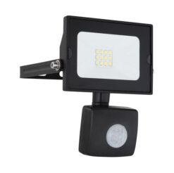 GLOBO led reflektor sa senzorom IP45 10W, crni