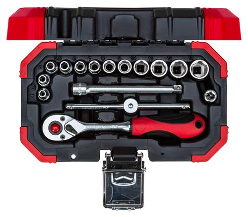 """M9252 GEDORE set nasadnih ključeva 1/4"""" 4-13 mm, 16 kom"""